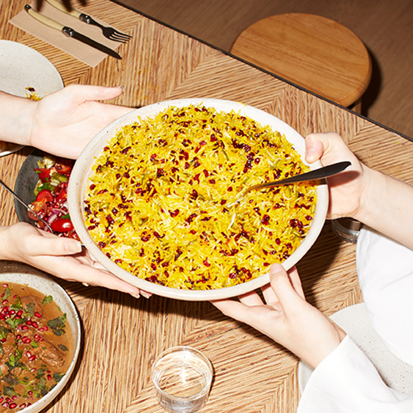 Persian Jewelled Rice Highpoint