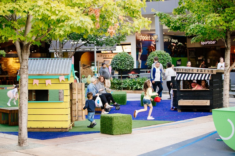 Pop Up Park Cubbies Highpoint