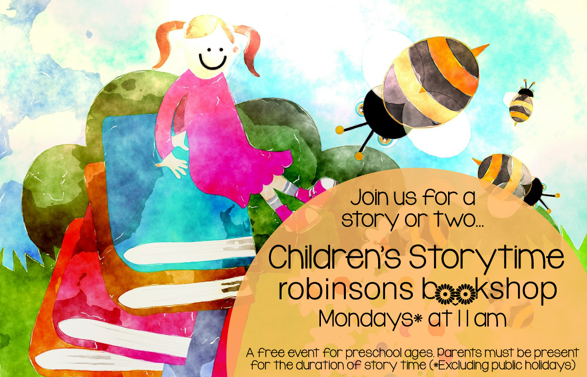 Storytime at Robinsons Bookshop
