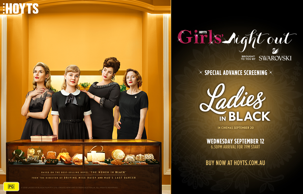 HOYTS Girls' Night Out: Ladies in Black