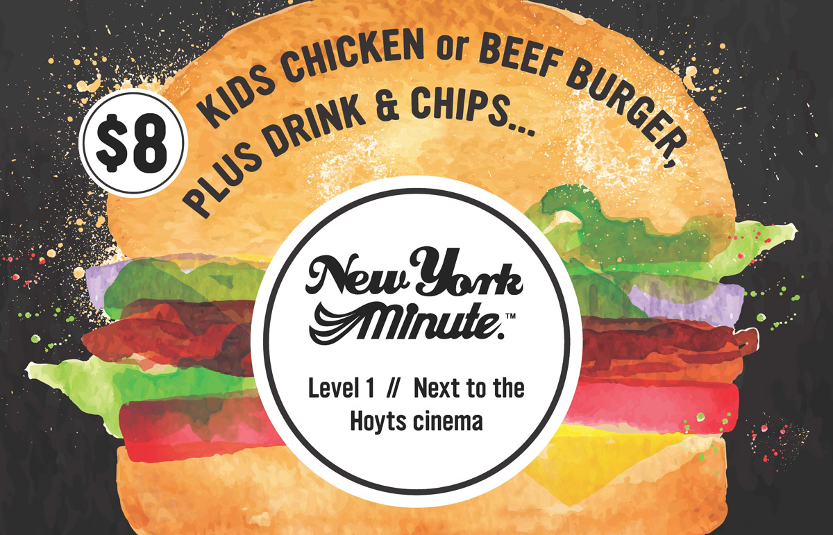New York Minute Kids Meal