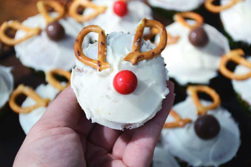 chistmas cupcakes