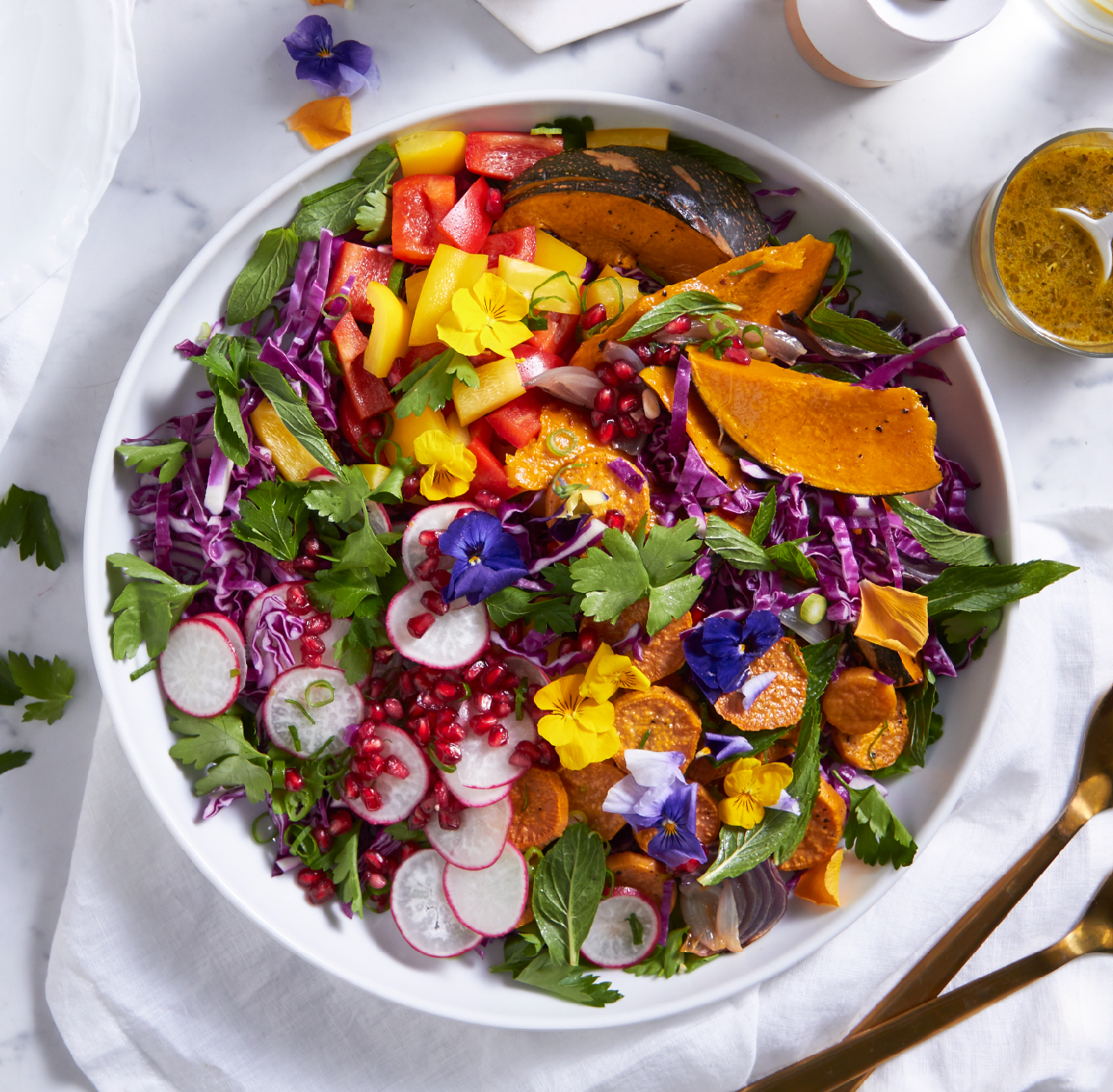 Roast Vegetable Celebration Salad