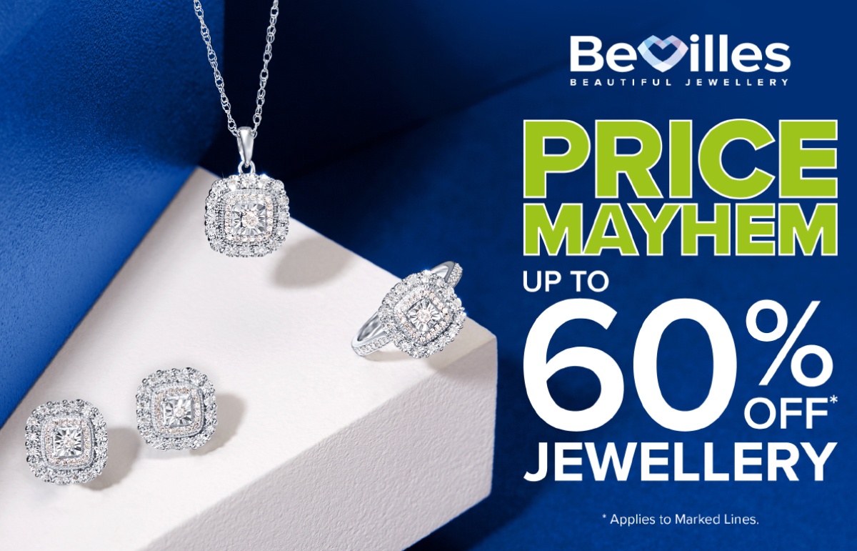 Price Mayhem: Up to 60% off Jewellery