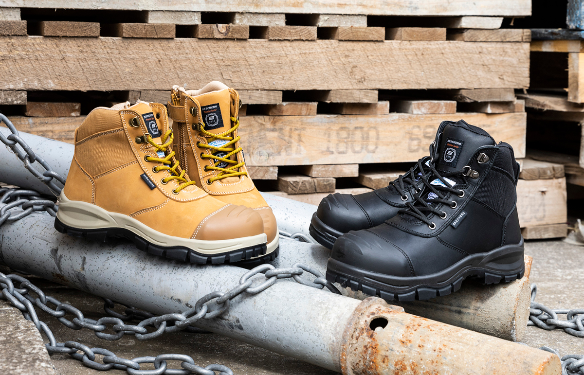 Skechers - Composite Toe Work Boot has arrived!