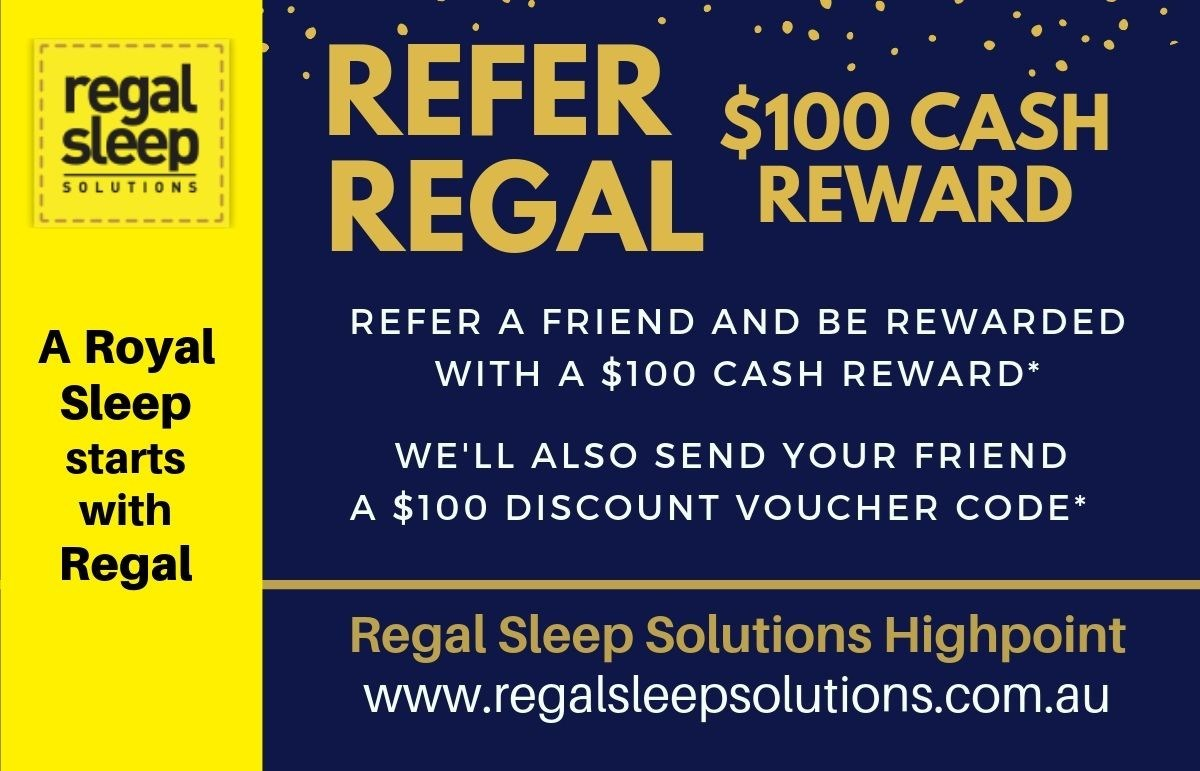 $100 Cash Reward for Referring a Friend