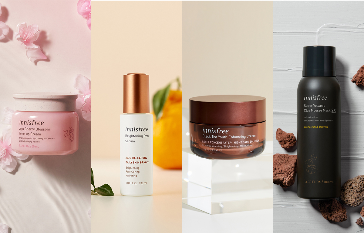 Up to 30% off selected products at innisfree